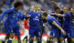 Football - Everton v Manchester United FA Cup Semi