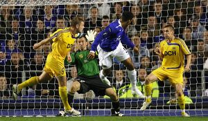 Football - Everton v Metalist Kharkiv UEFA Cup First Round First Leg - Goodison Park