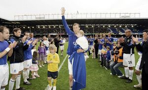 players staff/duncan ferguson/football everton v west bromwich albion fa barclays