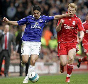 Football - Liverpool v Everton Barclays Premier League - Anfield - 30/3/08 Everton's
