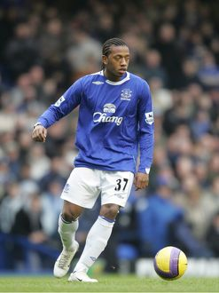 Football - Stock 06/07 - 10/2/07 Manuel Fernandes - Everton Mandatory Credit