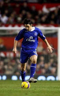 Football - Stock 06/07 - 29/11/06 Nuno Valente - Everton Mandatory Credit