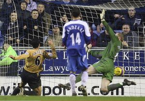 Football - Wigan Athletic v Everton FA Barclays Premiership - The JJB Stadium - 21/1/07