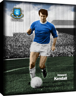Howard Kendall Retro Canvas
