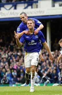 James Beattie and Leon Osman