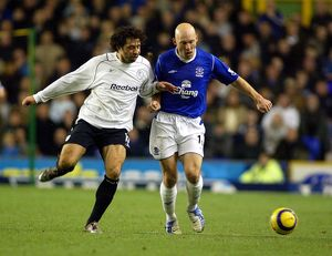Lee Carsley battles with Campo