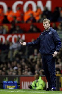 Manchester United v Everton David Moyes