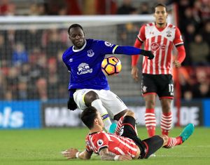 <b>Premier League - Southampton v Everton - St Mary's Stadium</b><br>Selection of 3 items