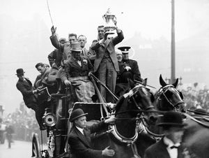 Soccer - FA Cup - Everton Winners Parade - Liverpool - 1933