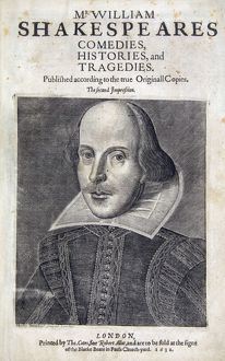 Shakespeare's Second Folio by Robert Cotes, 1632