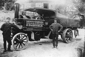 Henry Cosney steam lorry at Rivelin Glen Quarry, Sheffield, Yorkshire, 1920s