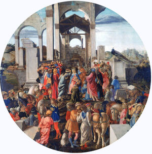 'The Adoration of the Kings', c1470-1475. Artist: Sandro Botticelli