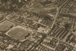 'An Aerial Camera's View of Lords and the District of Marylebone', c1935