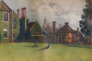 'Baynards, from the South Terrace', 1911, (1914). Artist: James S Ogilvy.