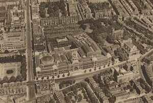 'The Camera Catches a View of South Kensington from a Low-Flying Aeroplane', c1935
