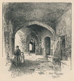 'In the Cloister', 1895. Artist: Unknown.