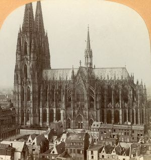 cologne cathedral cologne germany c1900 creator