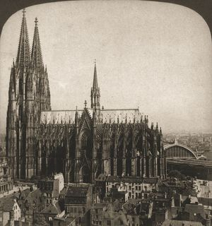 cologne cathedral germany 1903 creator works
