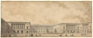 first reconstruction project palace versailles