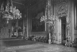 'The Grand Reception Room, Windsor Castle, 1912', (1939). Artist: Unknown