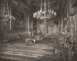 The Grand Reception Room, Windsor Castle, Berkshire, 1894. Creator: Unknown