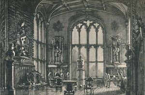 'The Guard Room, or Armoury', 1895. Artist: Unknown.