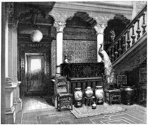 'The Hall', c1880-1882. Artist: Unknown
