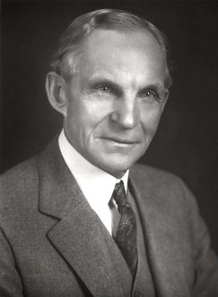 Henry Ford, American engineer and automobile manufacturer, c1910-c1930. Artist: Unknown