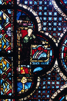 inn stained glass chartres cathedral france