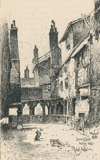 'Inner Cloister, Looking West', 1895. Artist: Unknown.