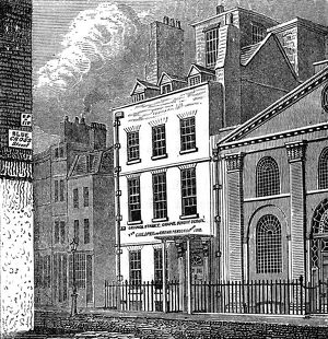 isaac newtons house st martins street leicester