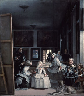 'Las Meninas' or 'The Family of Philip IV', 1656-1657