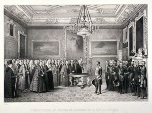 Lord Mayor, Sir William Magnay, Windsor Castle, Berkshire, 1844