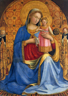 Madonna and Child with Saints Dominic and Peter Martyr (Madonna dell' Umilita), ca