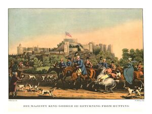'His Majesty King George III Returning from Hunting', early-mid 19th century