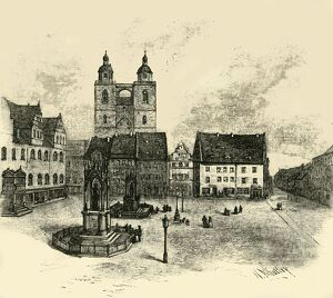 the market square wittenberg 1890 creator