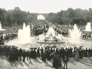 palace fountains versailles france 1895 creator