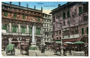 Palazzo Maffei, Verona, Italy, late 19th or early 20th century(?). Artist: Unknown