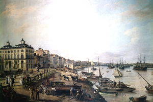 port bordeaux france 1804 artist pierre lacour