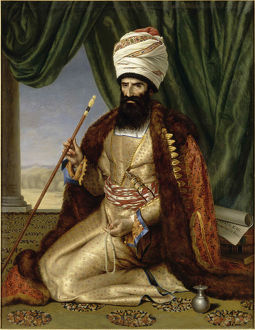 portrait asker khan ambassador persia paris 1808