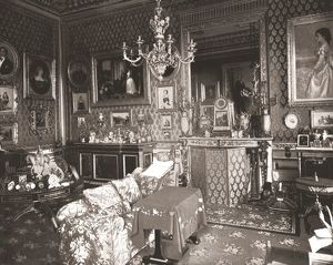 The Queen's Sitting Room, Windsor Castle, Berkshire, 1894. Creator: Unknown