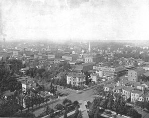 Sacramento, California, from the Dome of the Capitol, USA, c1900. Creator: Unknown