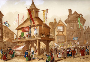 The Shakespeare Jubilee At Stratford upon Avon, c1850. Artist: Unknown
