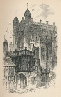 'St. George's Chapel', 1895. Artist: Unknown.
