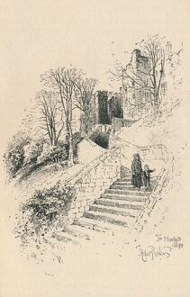 'The Hundred Steps', 1895. Artist: Unknown.