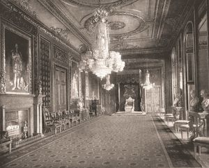 The Throne Room, Windsor Castle, Berkshire, 1894. Creator: Unknown
