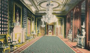 'The Throne Room, Windsor Castle', c1917