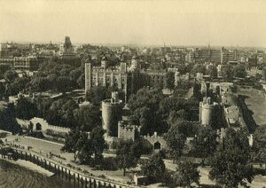 tower london general view south c1920 creator