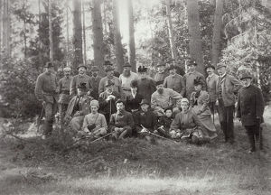 tsar alexander iii family friends hunt bialowieza