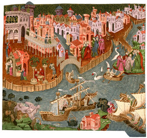 Venice in 1338, (1892). Artist: Unknown